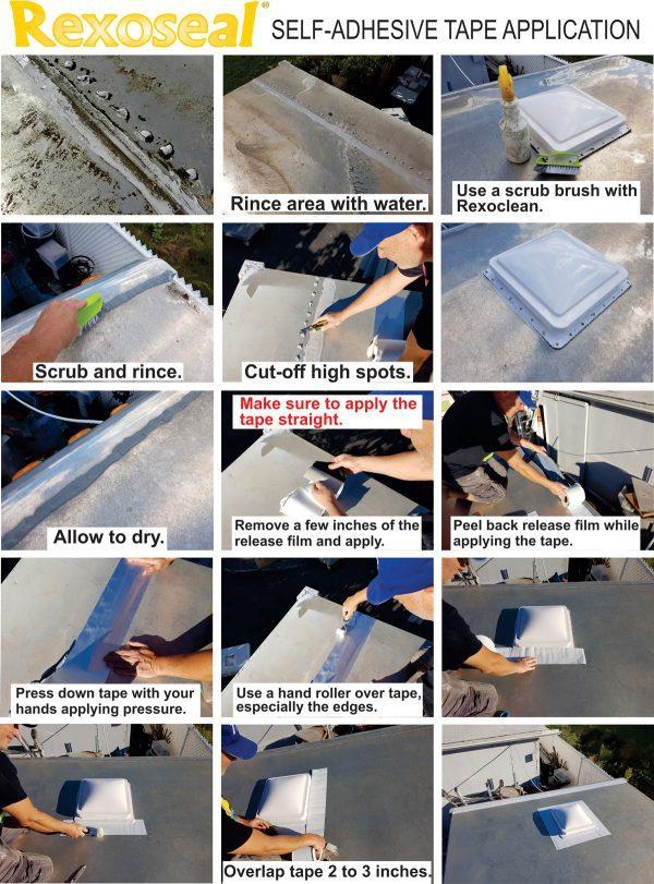 Repair Tape Application